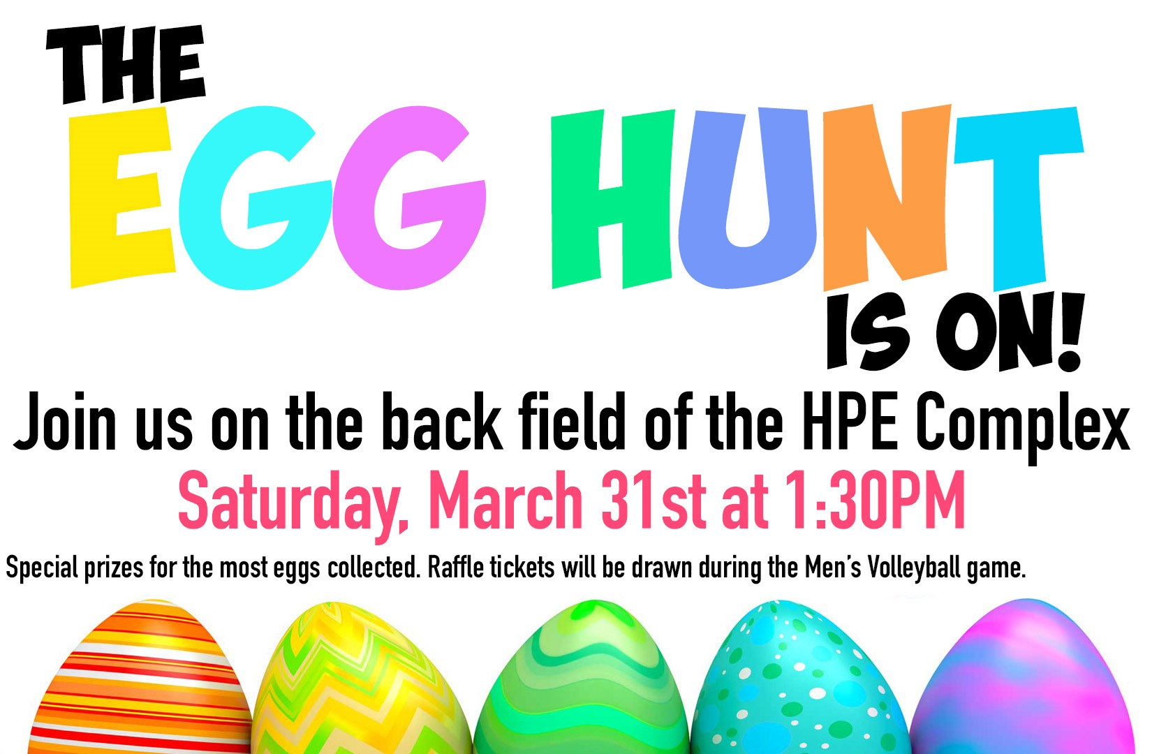 York Athletics To Hold Easter Egg Hunt March 31 Prizes To Be Given